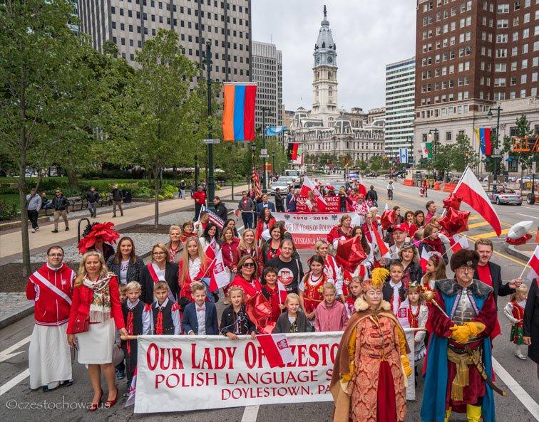 Pulaski Day Parade in Philadelphia
