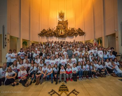 Retreat for the Polish Youth from the Polish Schools in USA