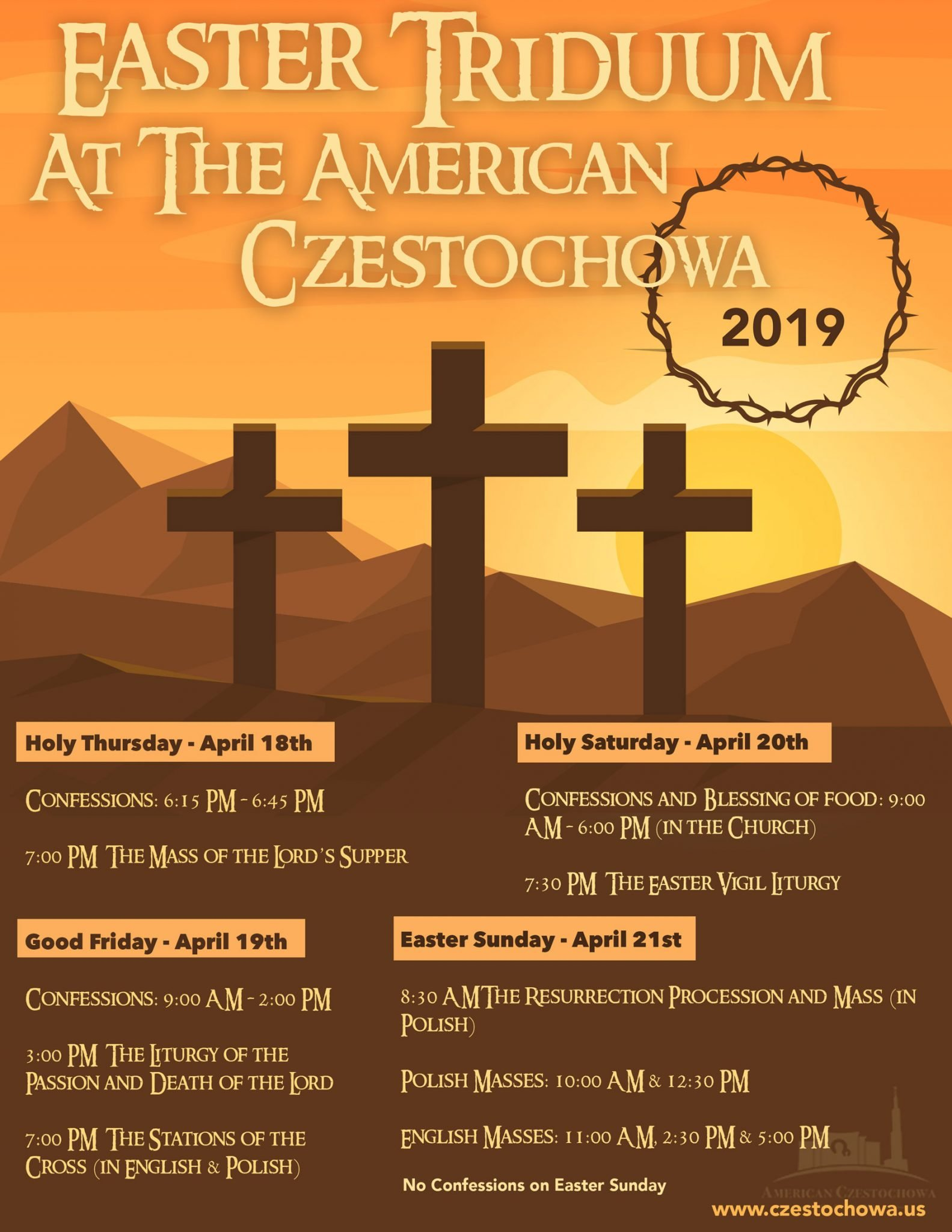 Invitation for the Easter Triduum