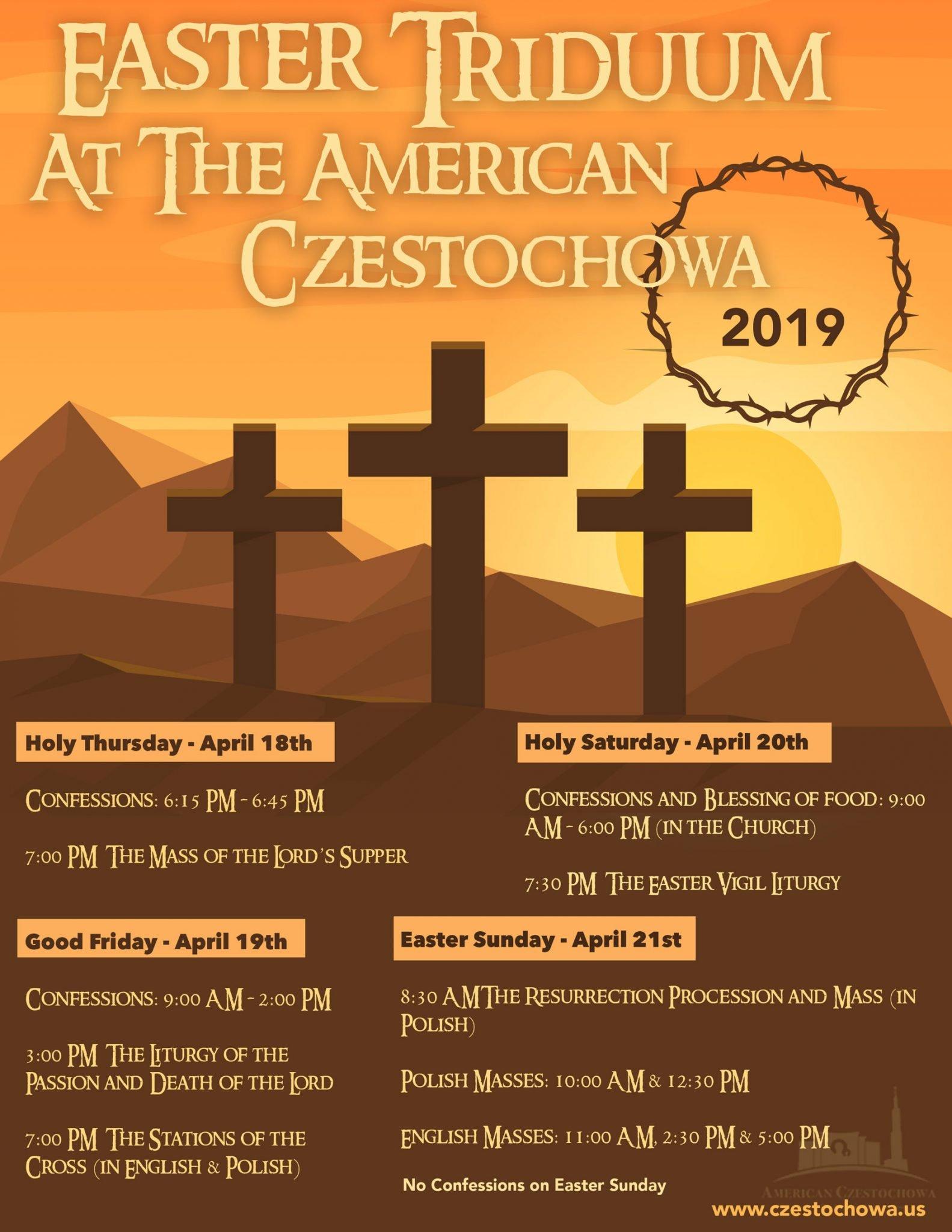 Invitation for the Easter Triduum