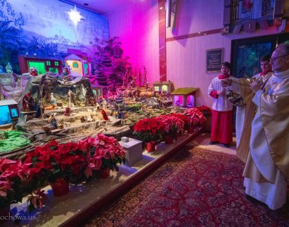 The Holy Day of Christmas at the American Czestochowa