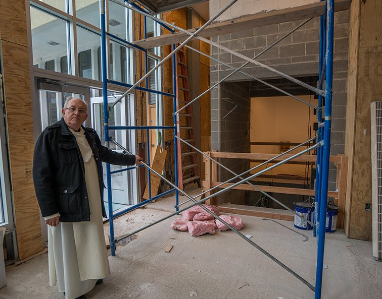 Church Elevator – Construction Progress