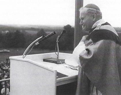 Cardinal Karol Wojtyla at American Czestochowa