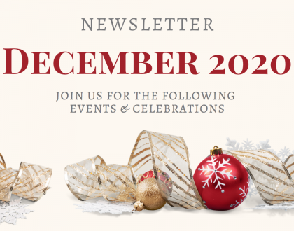 Shrine Newsletter for December 2020