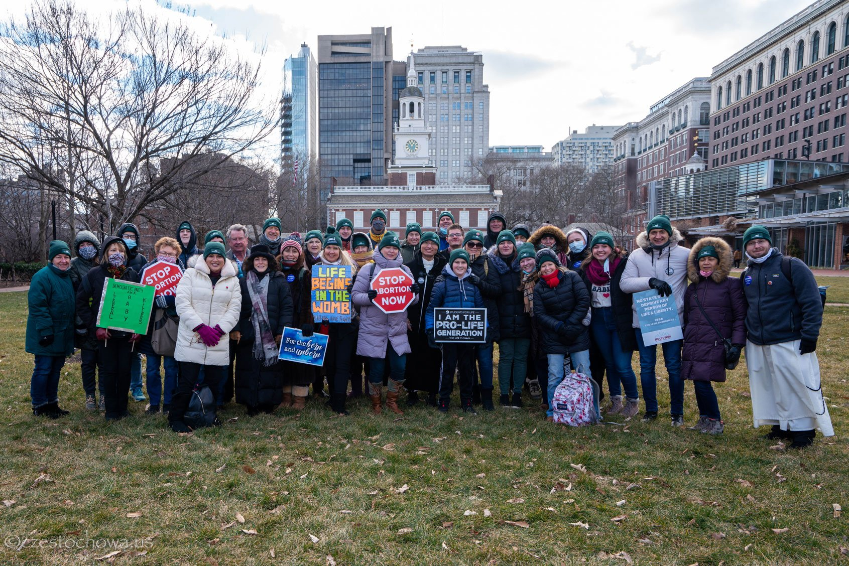March for Life in Philadelphia 2021
