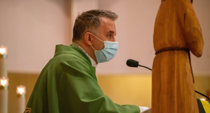 Mass & Meeting with Fr. Paul Bielecki OFM Cap