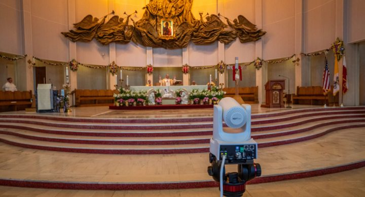 LIVE STREAMING SCHEDULE DURING THE EASTER TRIDUUM