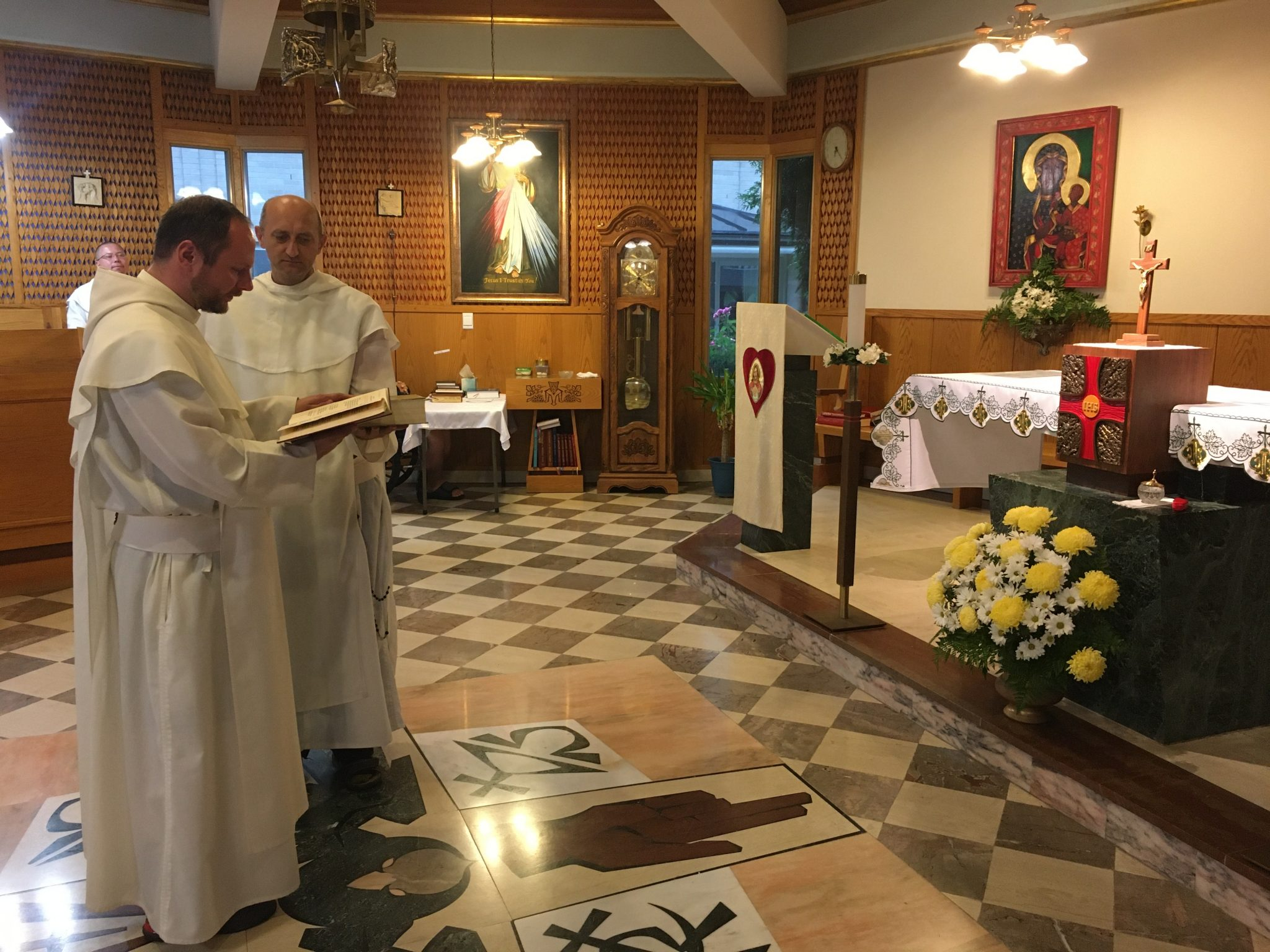 NEW ASSIGNMENTS IN THE PAULINE FATHERS COMMUNITY AT AMERICAN CZESTOCHOWA