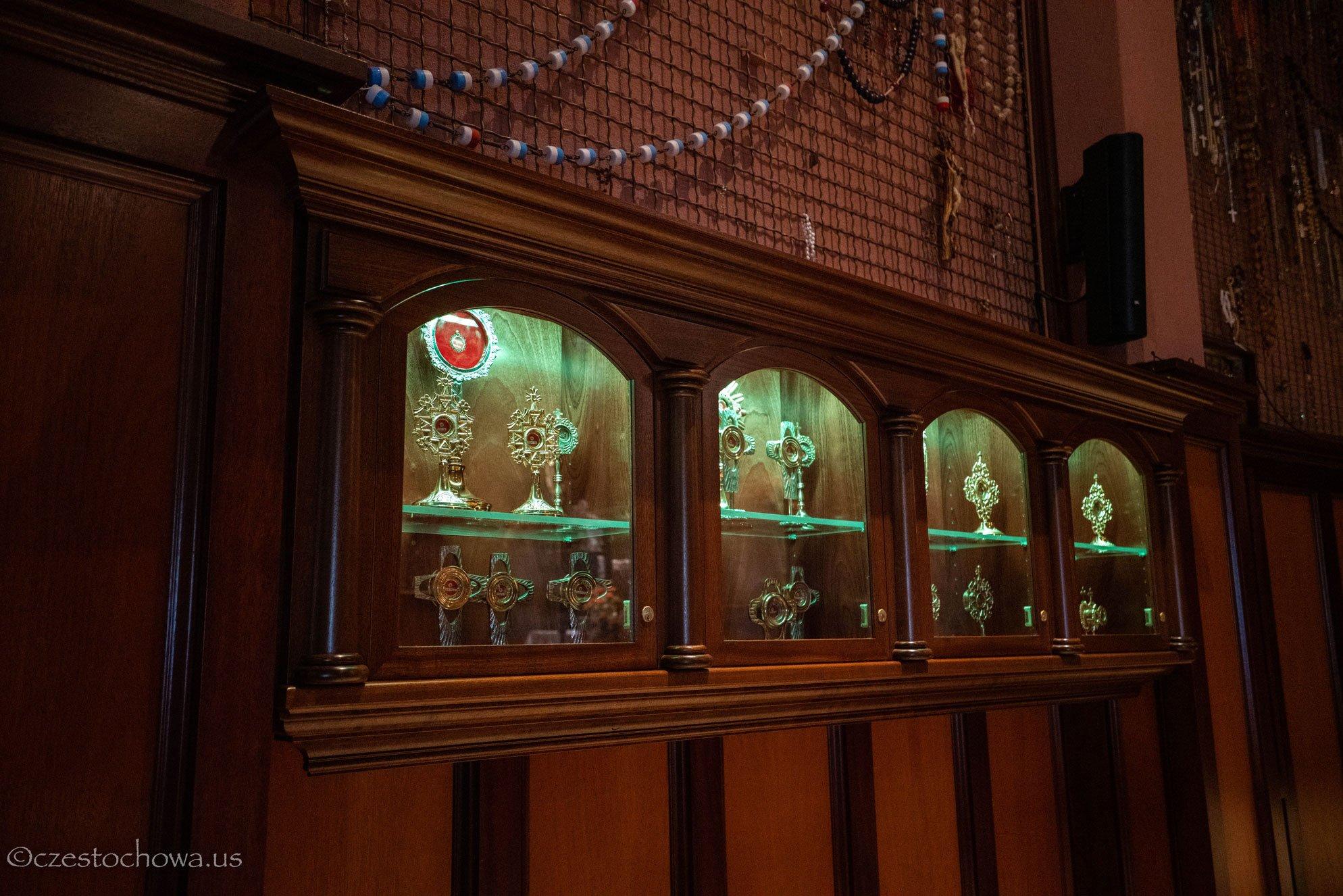 Relikwie Świętych w Amerykańskiej Częstochowie